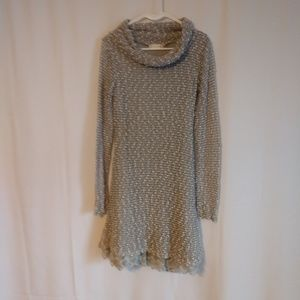 Altar'd State sweater dress with cowl